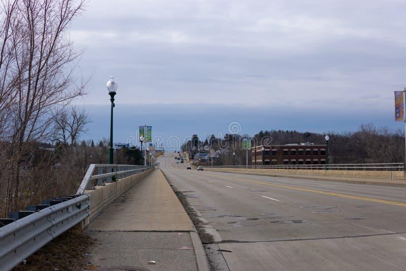 Ponte em Rochester, Michigan fotografia de stock royalty free