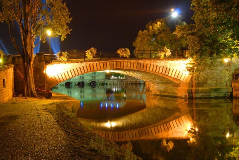 Ponte em Strasbourg, France fotografia de stock royalty free