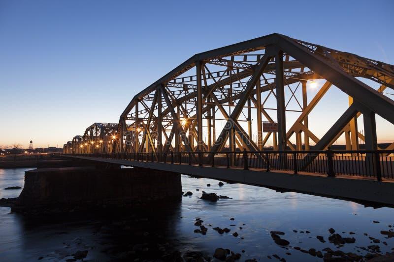Ponte em Trenton fotos de stock