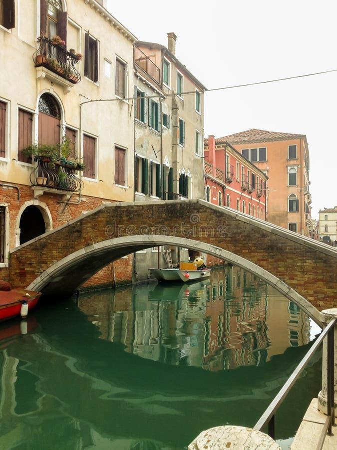 A ponte em Veneza imagens de stock