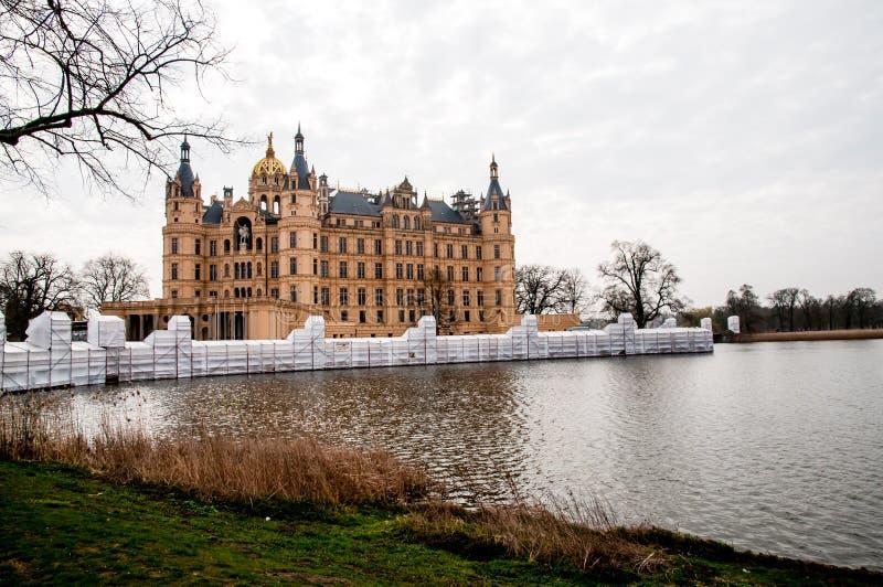 Ponte embalada do castelo foto de stock royalty free