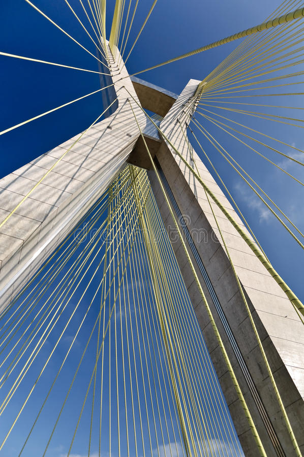 Free Ponte Estaiada Stock Photo - 21384500
