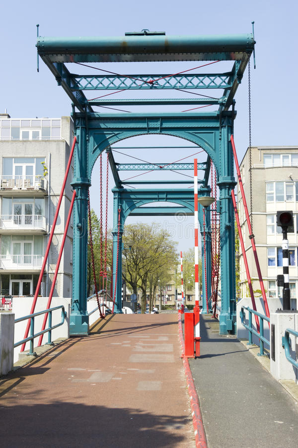 Ponte Ezelsbrug, Amsterdam, Paesi Bassi fotografie stock libere da diritti