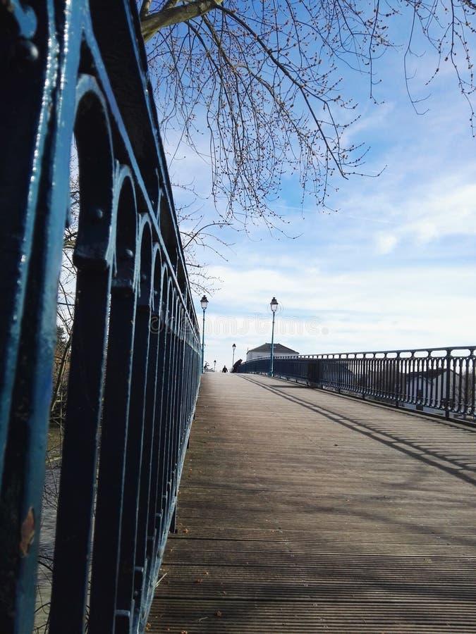 Ponte Francia fotografia stock libera da diritti