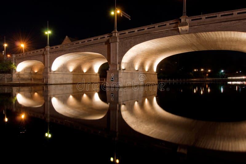 Ponte histórica do St. do banco em Ottawa fotos de stock royalty free