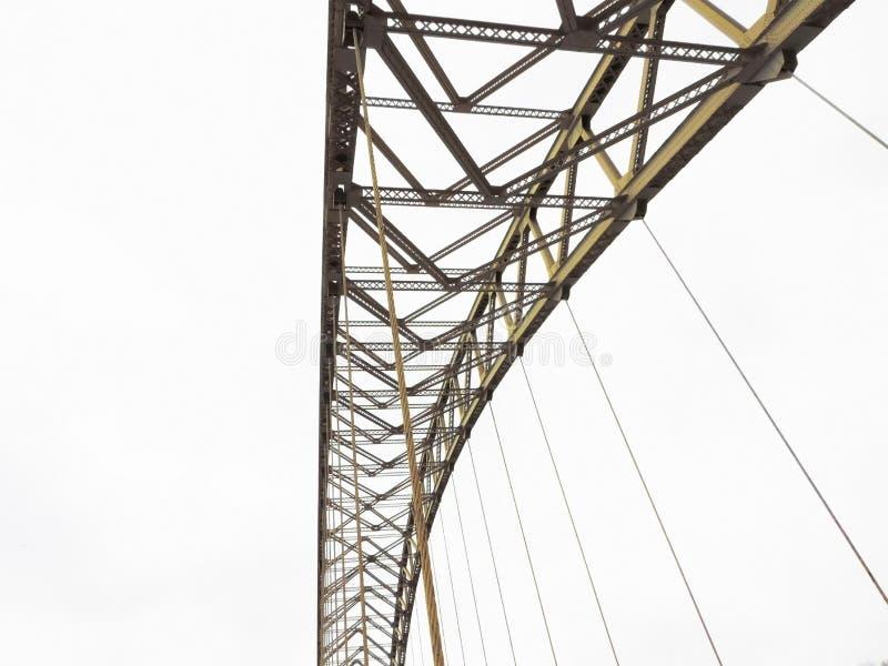 Ponte isolada no branco foto de stock royalty free