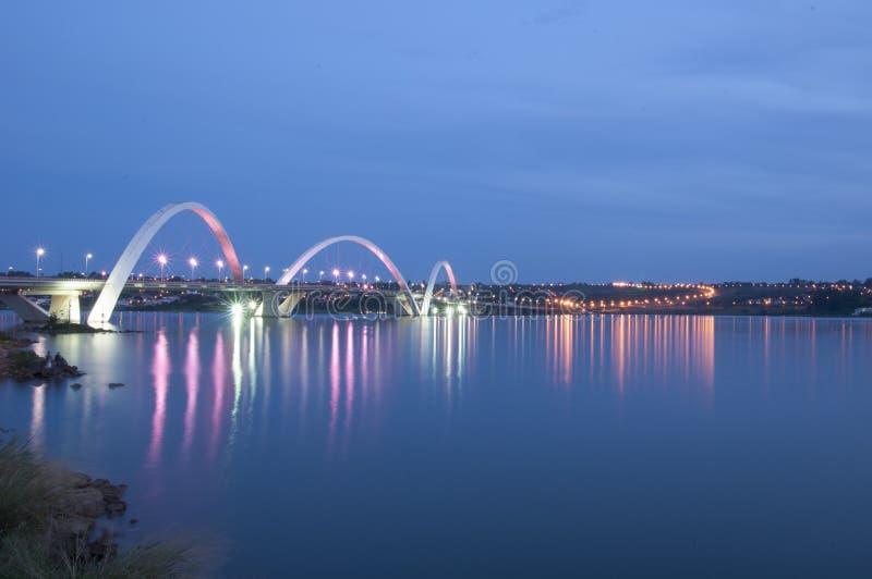 Ponte Juscelino Kubitschek fotografia stock