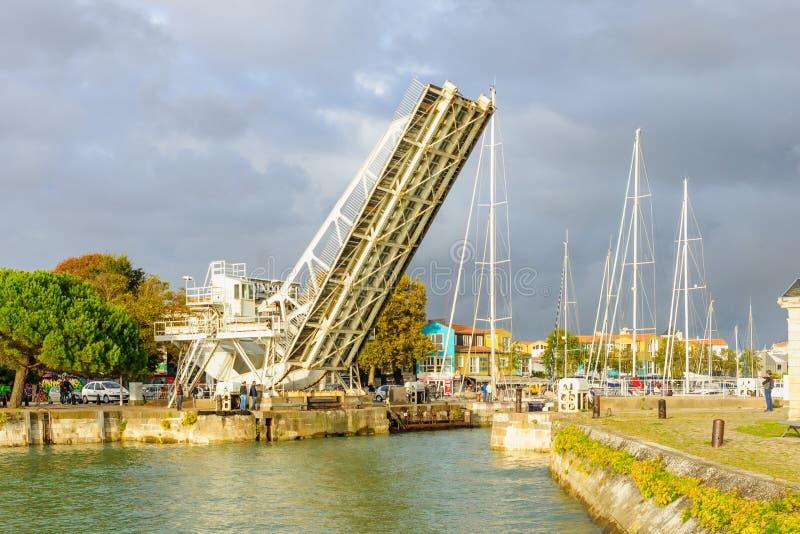 Ponte a La Rochelle fotografia stock libera da diritti