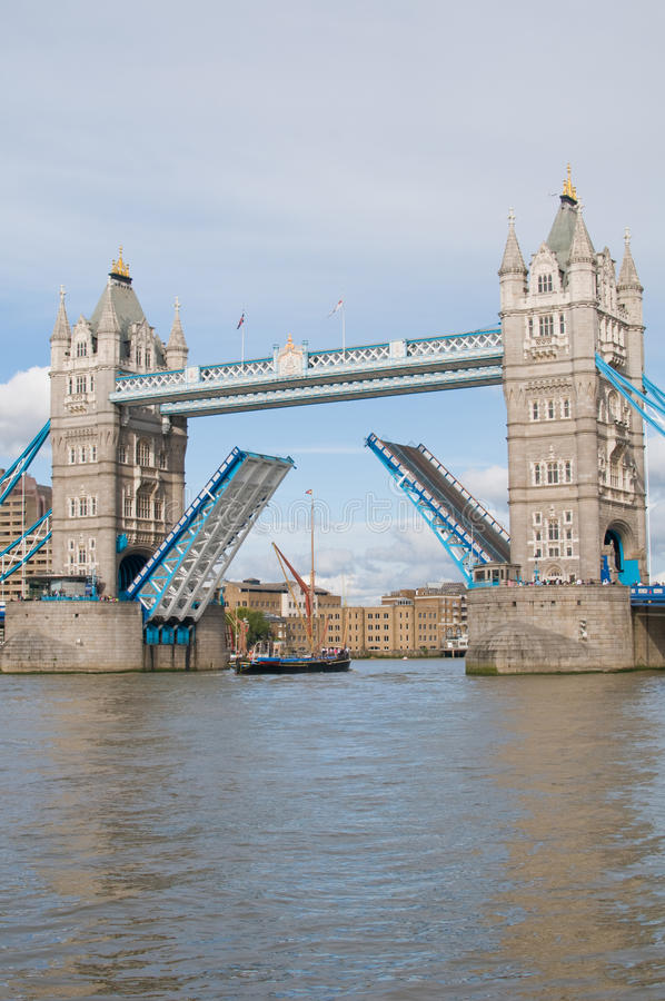 Ponte Londres da torre fotografia de stock