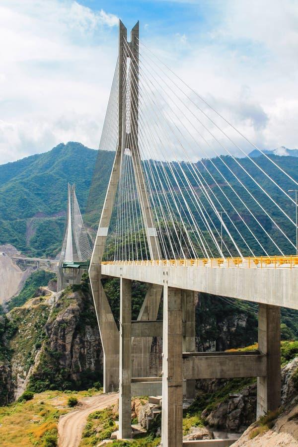 A ponte a mais alta América fotografia de stock