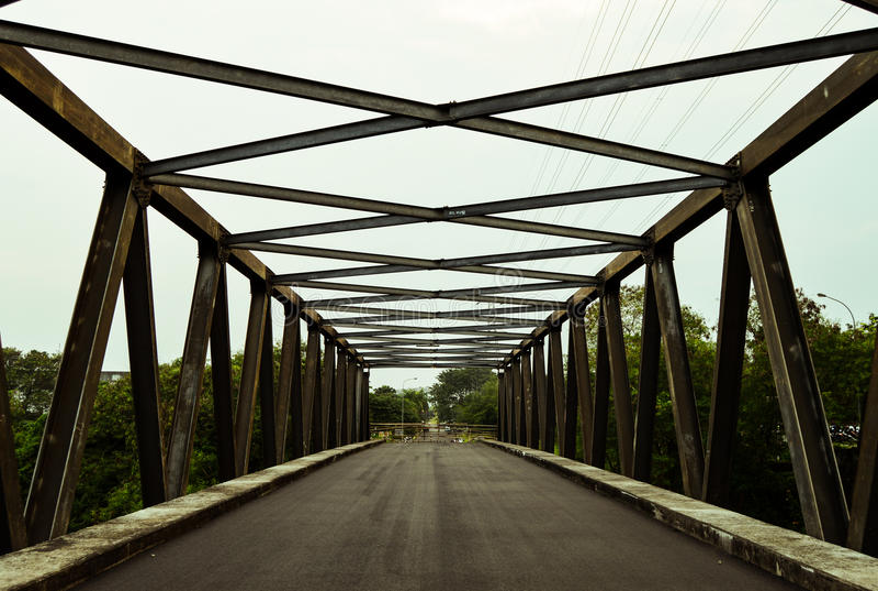 A ponte não consiste na carona fotos de stock royalty free