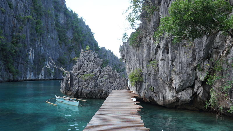 Ponte nelle Filippine fotografie stock