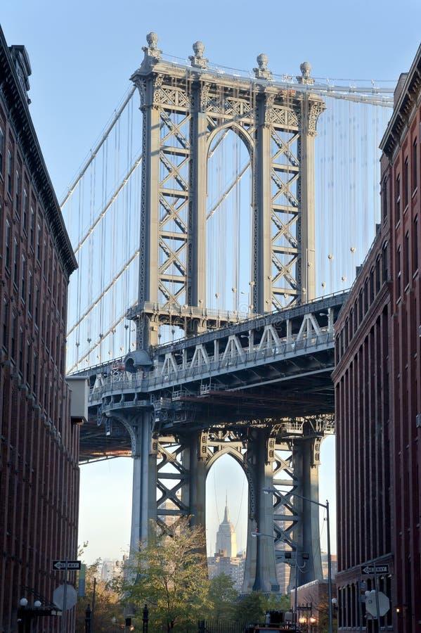 Ponte New York City de Manhattan fotografia de stock