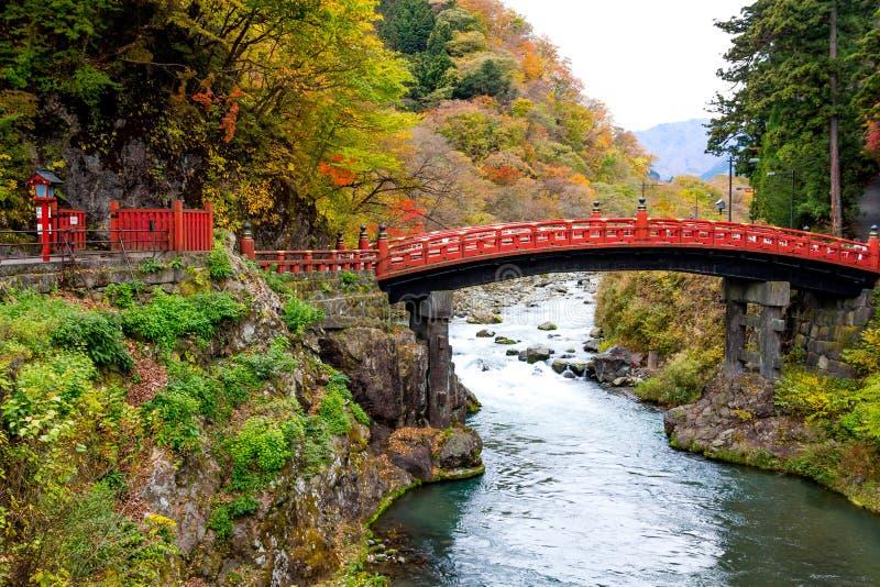 Ponte Nikko di Shinkyo immagine stock libera da diritti