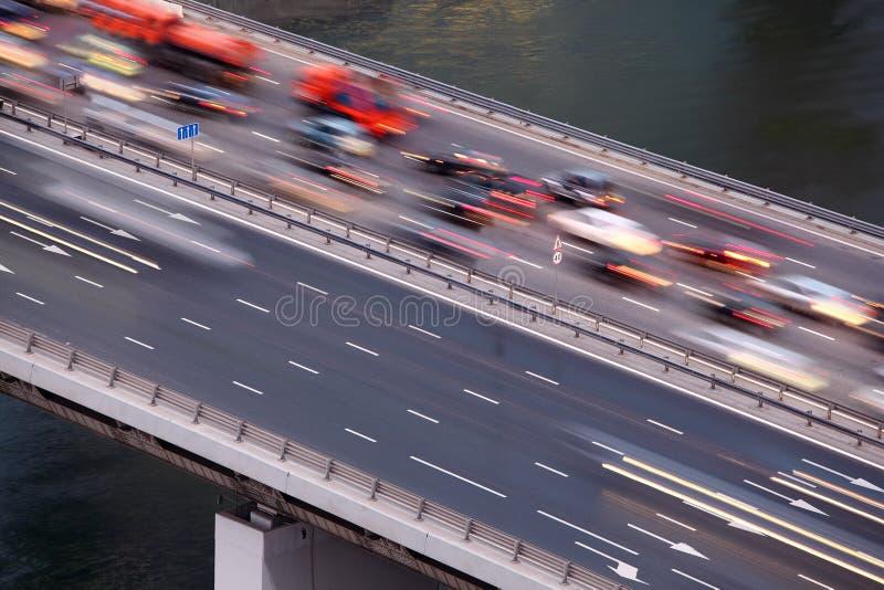 Ponte no terceiro anel do transporte imagens de stock royalty free