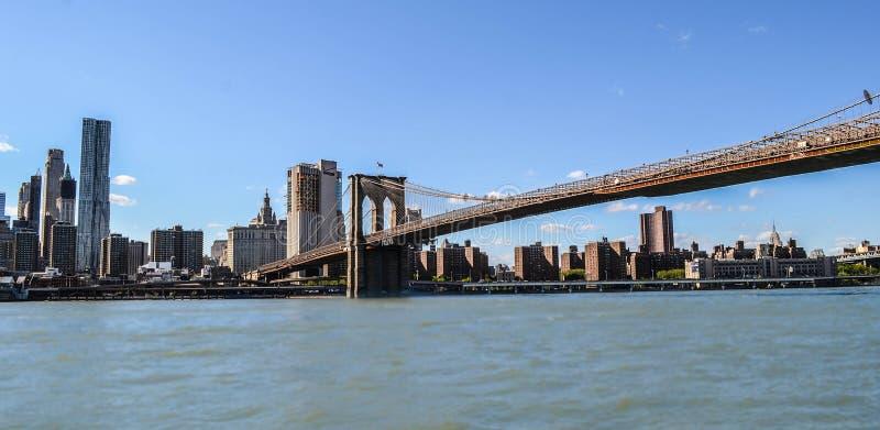 Ponte nova de York Brooklyn fotografia de stock