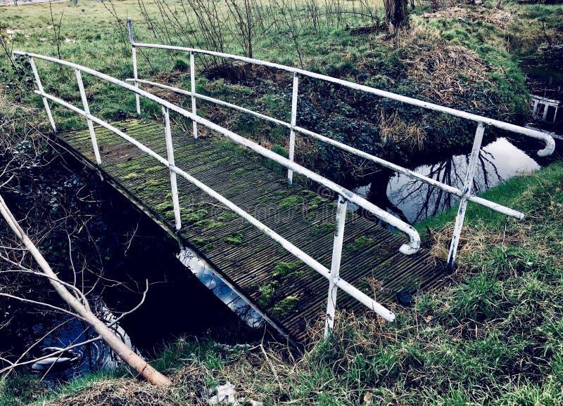Ponte olandese d'annata fotografia stock