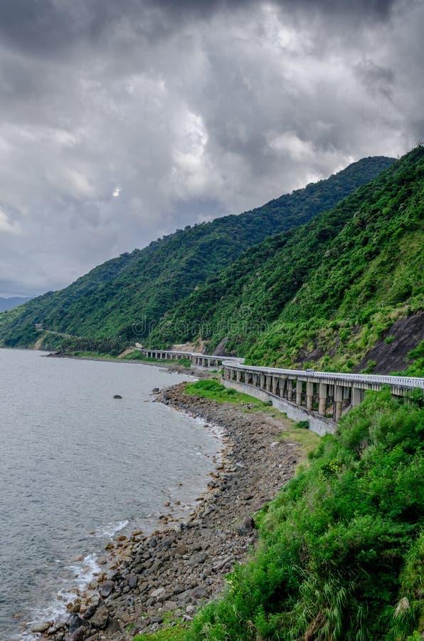 Ponte Pagudpud Filipinas de Patapat fotografia de stock