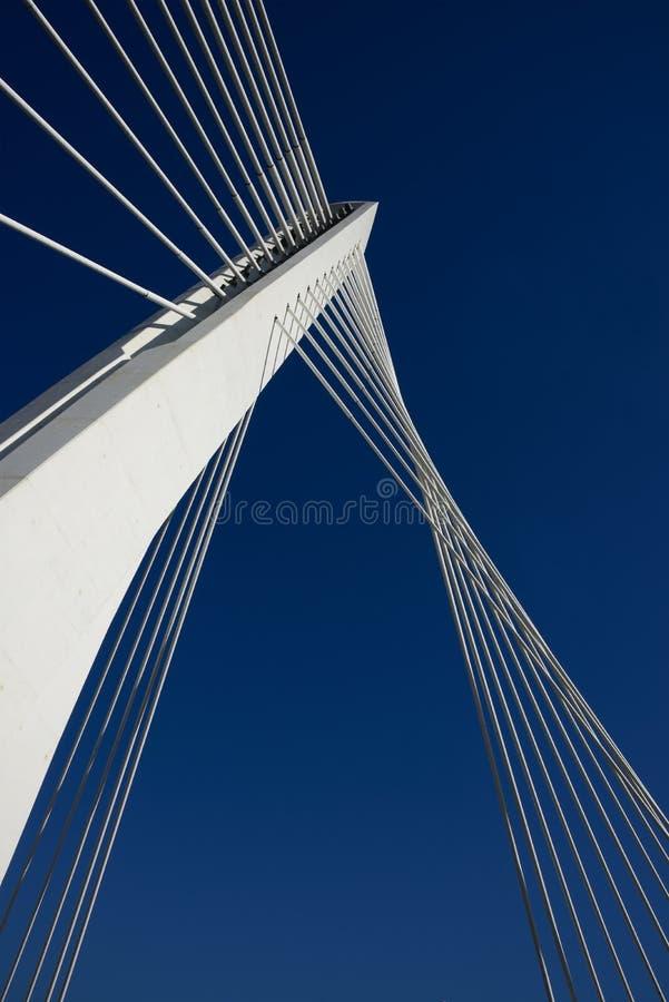Ponte Para alcançar junto o céu Sucesso foto de stock royalty free