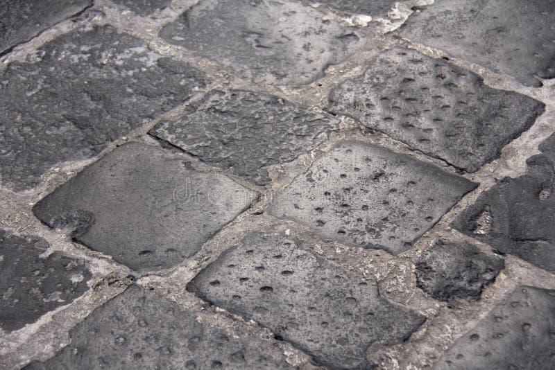 Ponte pavimentada velha dos tijolos Gray Background idoso Fundo das pedras Fundo para o projeto, o projeto e o molde imagem de stock royalty free