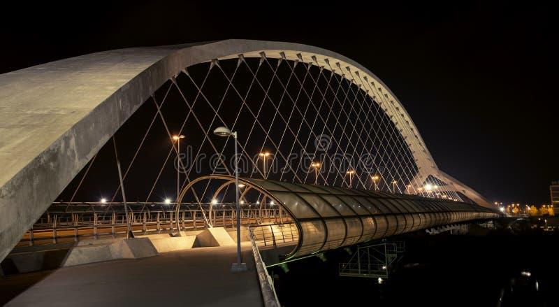 Ponte pedestre do acesso do terceiro milênio IV imagem de stock royalty free