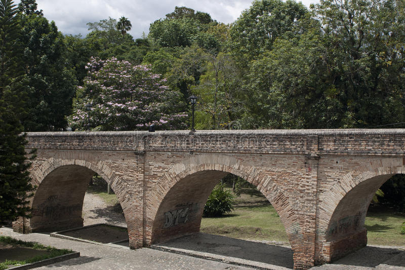 Ponte Popayan imagens de stock