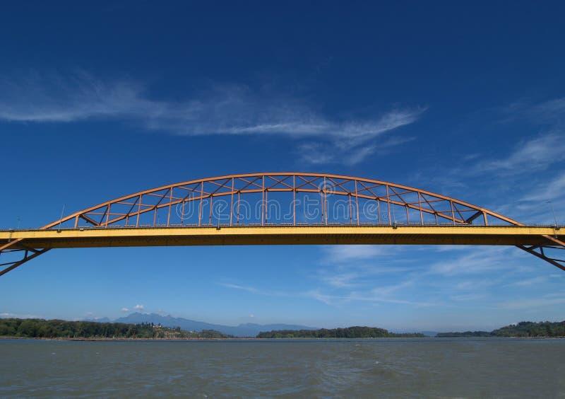 Ponte portuária de Mann fotos de stock