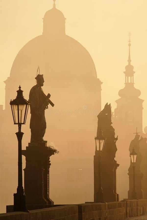 Ponte Praga de Charles fotografia de stock