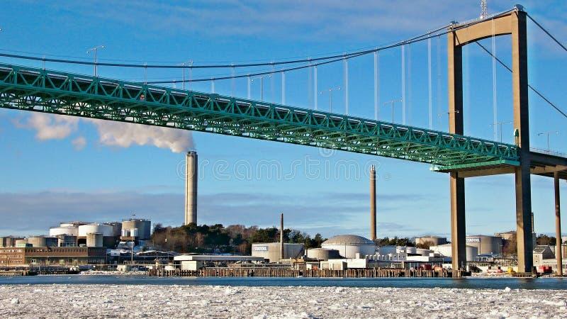 Ponte principale a Gothenburg, Svezia fotografie stock