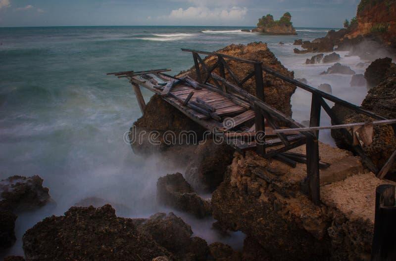 Ponte quebrada foto de stock royalty free