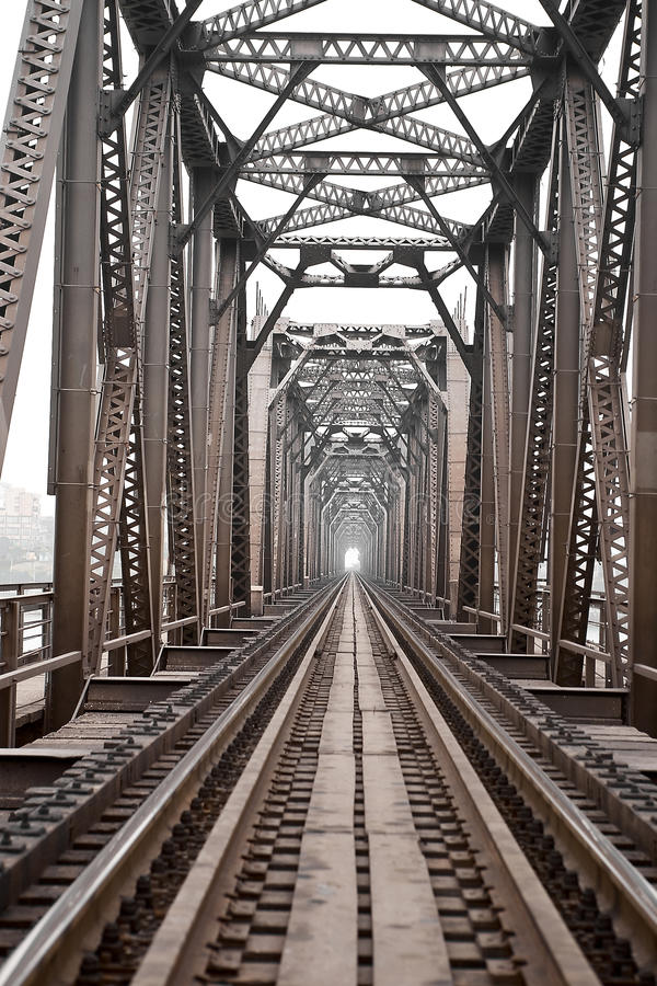 Ponte Railway foto de stock