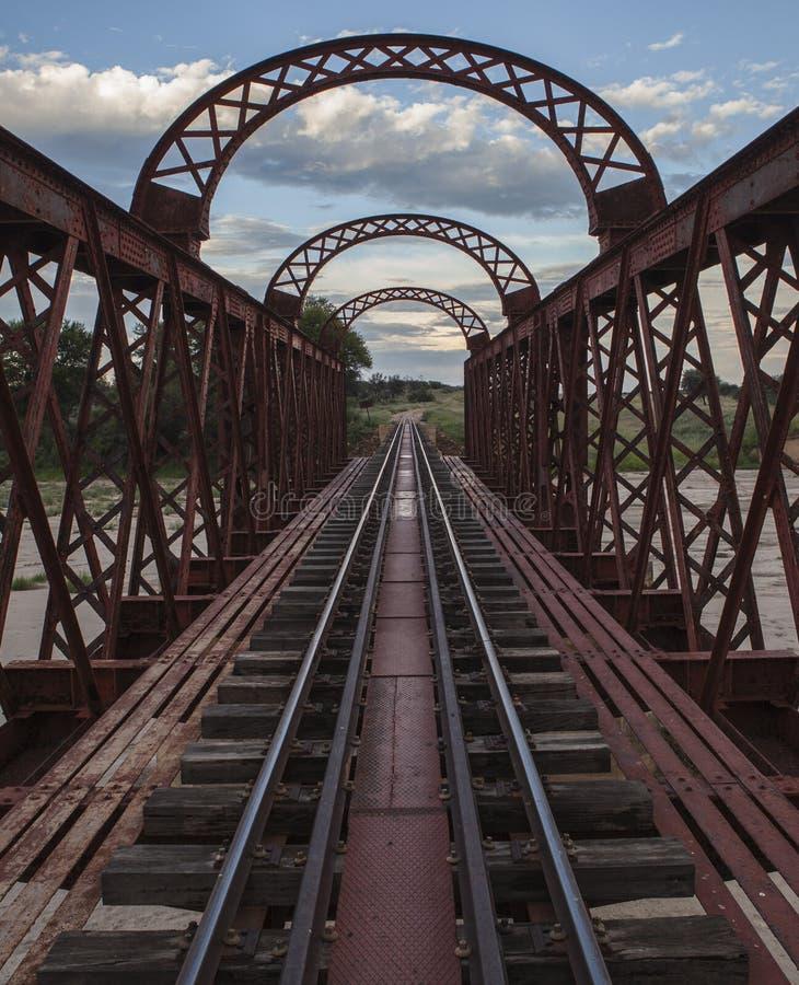 Ponte Railway 2 foto de stock royalty free