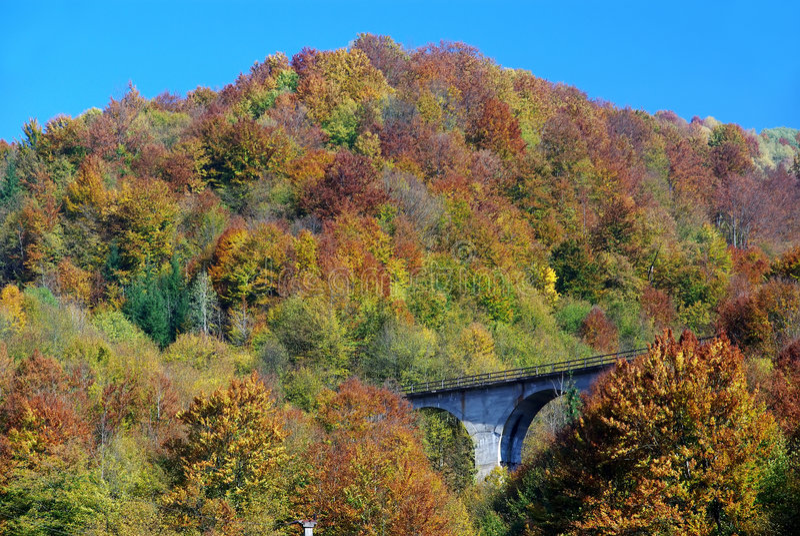 Ponte Railway imagens de stock royalty free