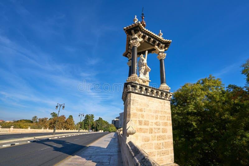 Ponte reale Spagna di del Real del puente di Valencia fotografia stock libera da diritti