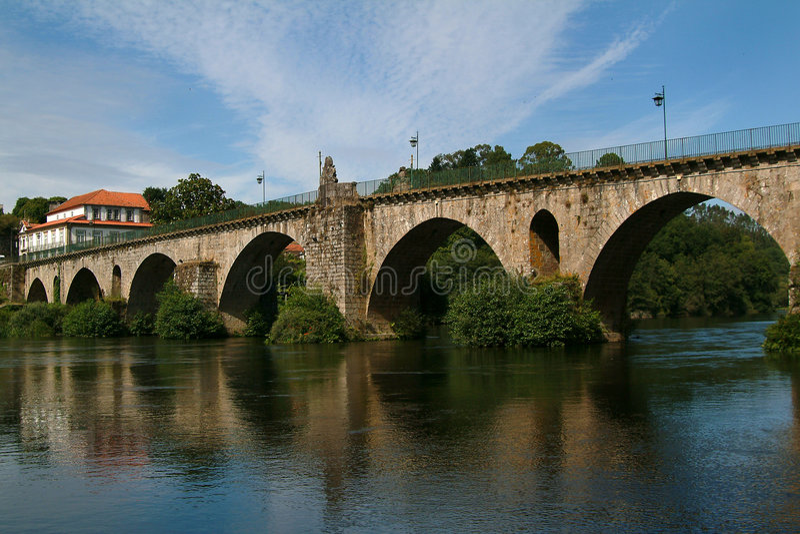 Ponte romana fotografia de stock royalty free
