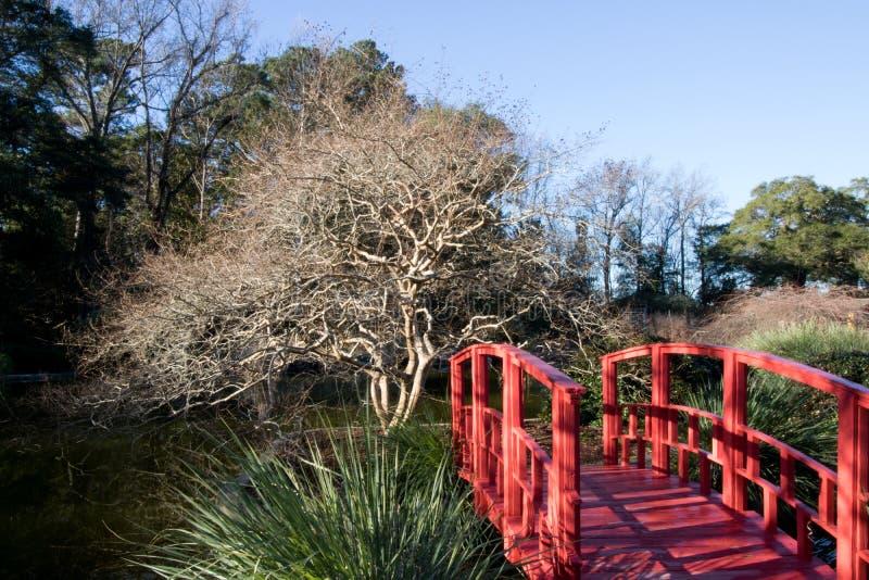 Ponte rosso immagine stock