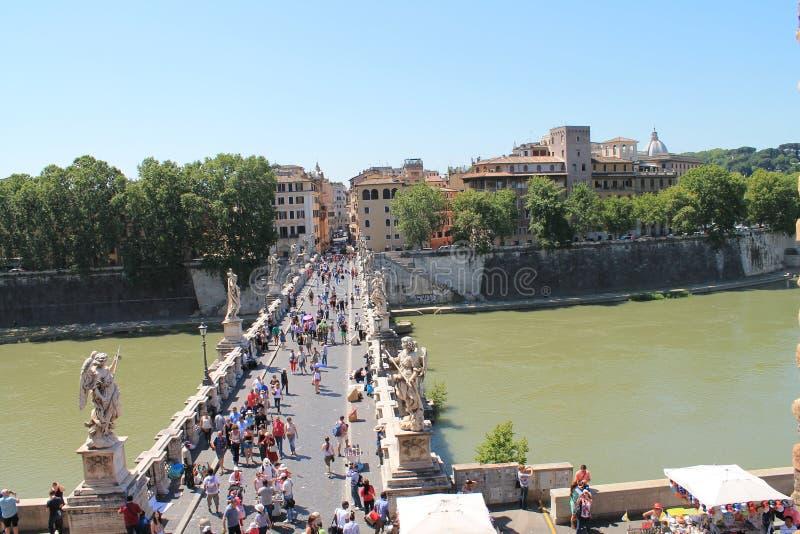 Ponte Sant'Angelo immagine stock libera da diritti