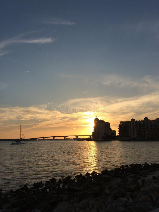 Ponte Sarasota Florida di Ringling immagini stock libere da diritti