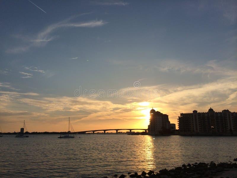 Ponte Sarasota Florida di Ringling fotografia stock libera da diritti
