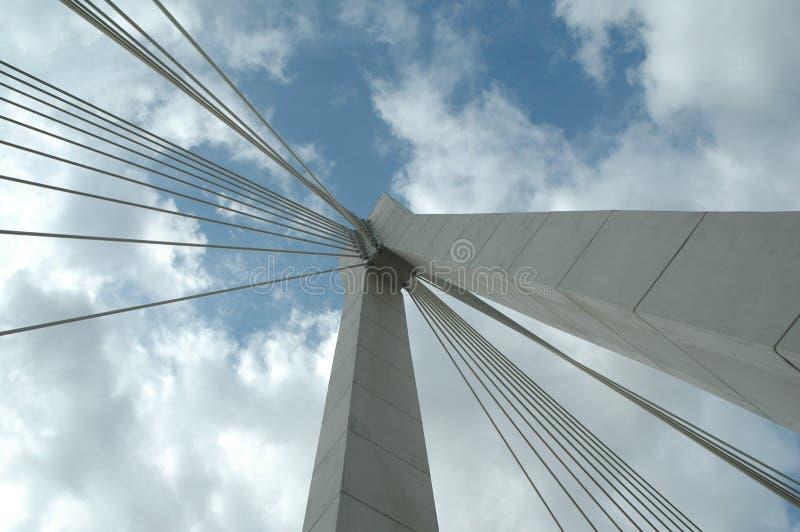 A ponte sobre o rio imagem de stock royalty free