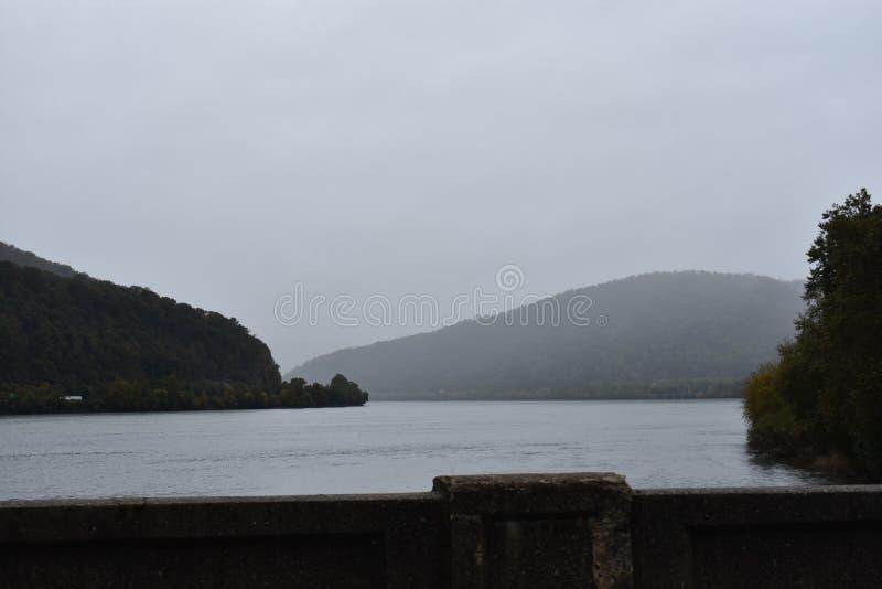 Ponte sobre o Susquehanna fotografia de stock royalty free