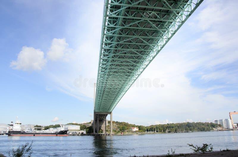 Ponte sopra il fiume fotografie stock