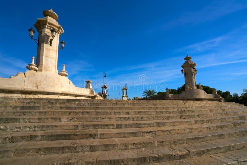 Ponte Spagna di Del Mar del pont di Valencia Puente fotografia stock libera da diritti