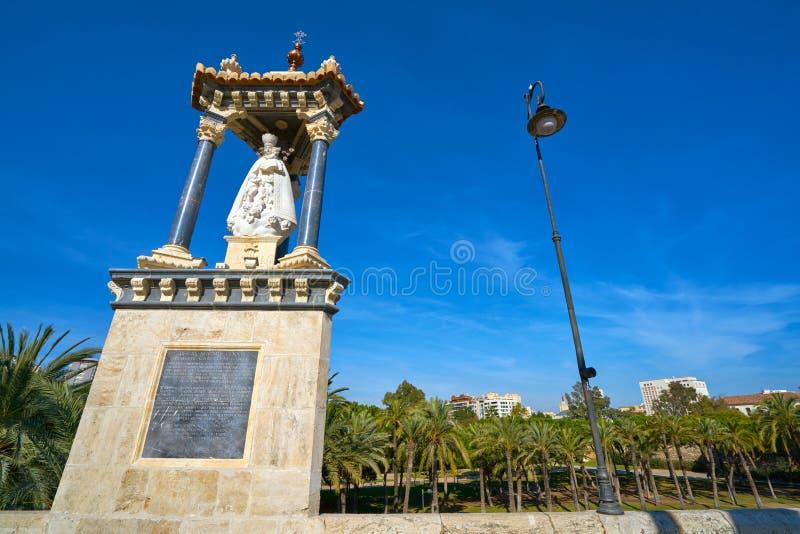Ponte Spagna di Del Mar del pont di Valencia Puente fotografia stock