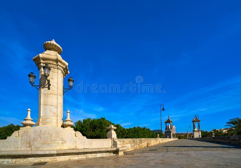 Ponte Spagna di Del Mar del pont di Valencia Puente fotografie stock libere da diritti