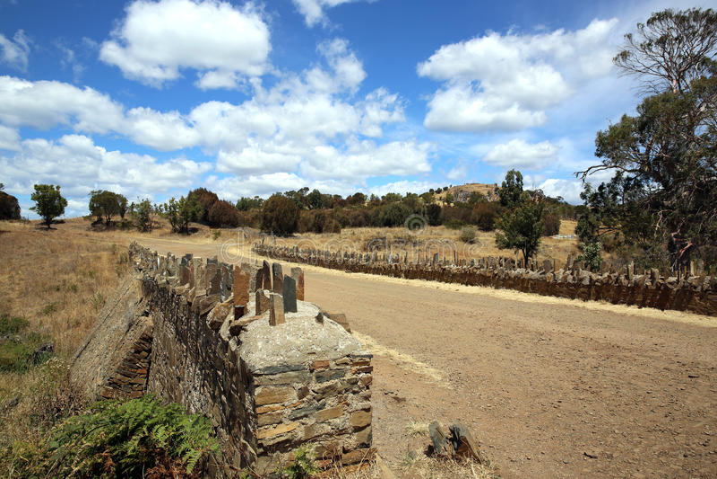 Ponte Spiky foto de stock royalty free