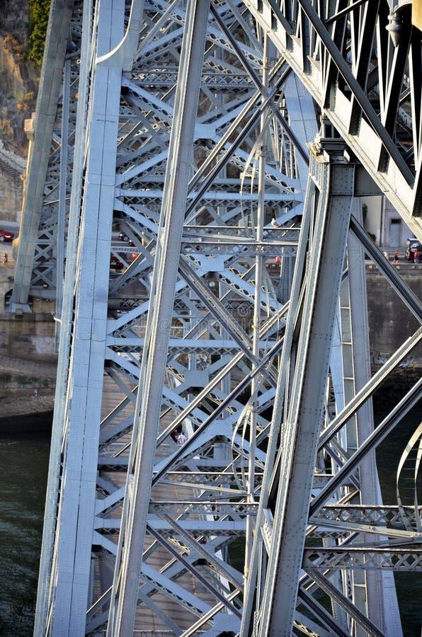 Ponte storico del ferro fotografia stock libera da diritti