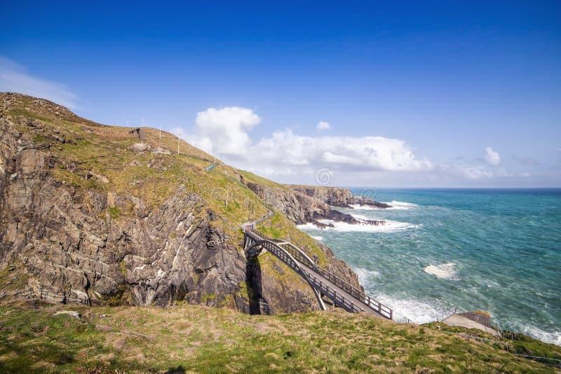 Ponte in a a sud-ovest dell'Irlanda fotografia stock libera da diritti