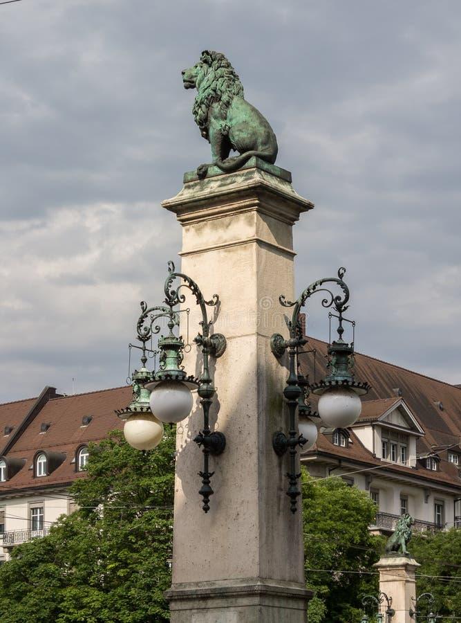 Ponte Svizzera di Zurigo immagine stock libera da diritti
