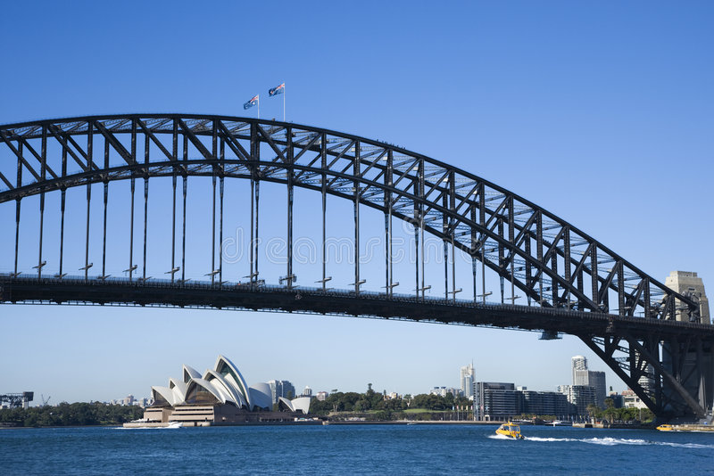 Ponte, Sydney Austrália. foto de stock